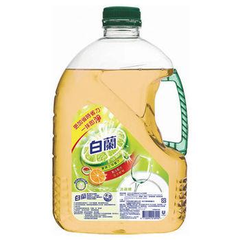 白蘭 全新動力配方洗碗精-鮮柚(2.8kg x4罐)