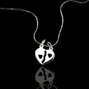 【xmono】牽手符號純銀項鍊