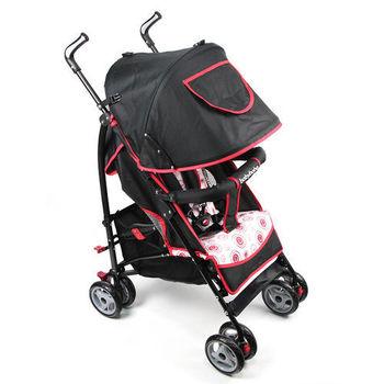 BabyBabe 新款全罩式加寬平躺傘車(紅)