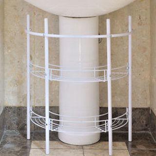 【ikloo宜酷屋】洗手台收納架水槽下收納架2入