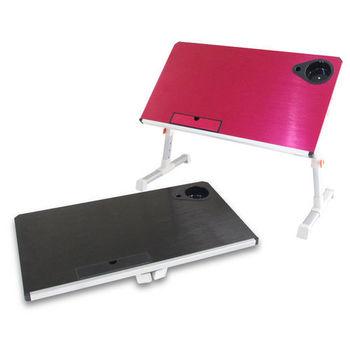 【wepon】新改良簡便鋁合金電腦折疊桌(大桌面)