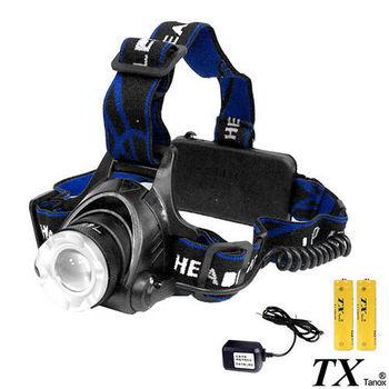 【特林TX】美國CREE T6 LED 無段前後變焦照明頭燈(HD-T6K-2)