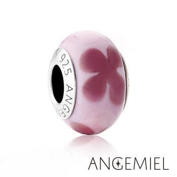 Angemiel安婕米 義大利純銀珠飾 盛開 琉璃珠