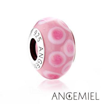 Angemiel安婕米 義大利純銀珠飾 嬌羞 琉璃珠