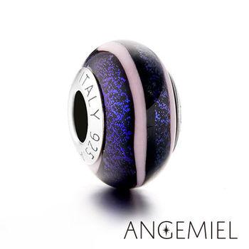Angemiel安婕米 義大利純銀珠飾 沉靜 琉璃珠