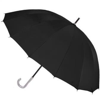 【2mm】日本樂天第一名正16骨無敵傘(黑色)