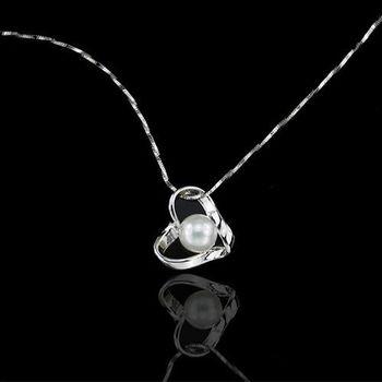 【JA-ME】窩心天然珍珠純銀項鍊