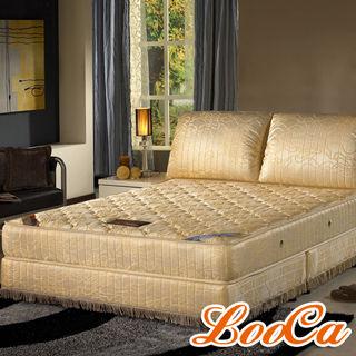 《加碼贈》LooCa 乳膠記憶雙頂級獨立筒床墊(單人)
