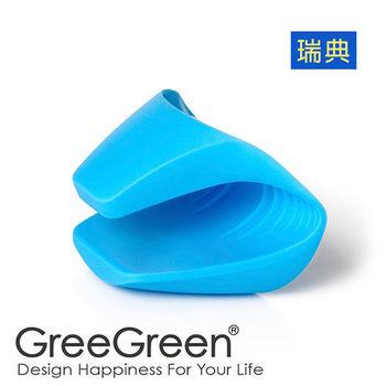 瑞典【GreeGreen】料理防燙防滑手套(藍色)P000805(2入/組)