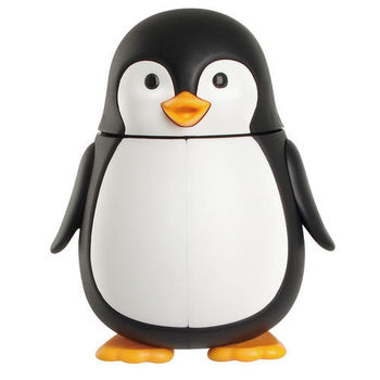 flipper- Orca動物造型牙刷架(企鵝)