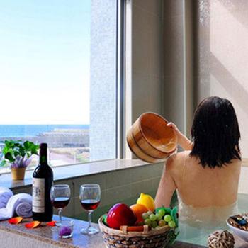 金山海灣海底溫泉渡假二日四人~私人湯屋頂級享受平日