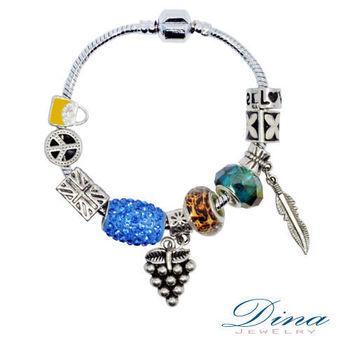DINA JEWELRY 蒂娜珠寶 繽紛年代 潘朵拉風格 設計手鍊
