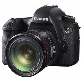 [鏡皇+原電組]【Canon】EOS 6D 單機身+EF 16-35mm F4 (公司貨)
