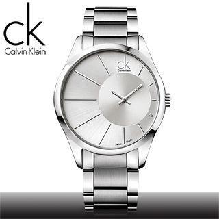 【瑞士 CK手錶 Calvin Klein】光芒系列石英男錶(K0S21109 白面)