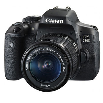 [64G+原電組]【Canon】 EOS 750D 18-55mm KIT(公司貨)