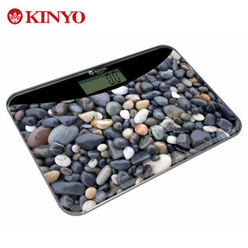 KINYO 安全輕巧型電子體重計 DS-6581