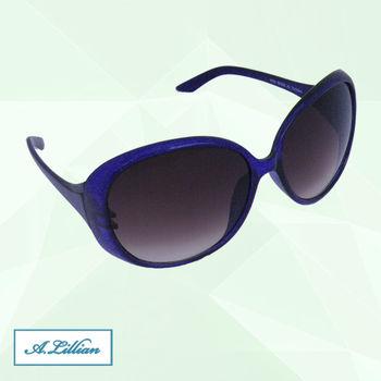 【A.Lillian】時尚高雅 UV400 太陽眼鏡 墨鏡 百搭必備款