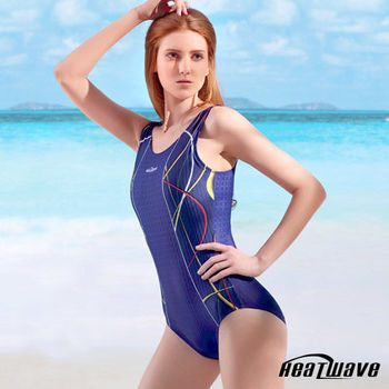 Heatwave 熱浪 泳裝 連身三角-健泳嬌娃