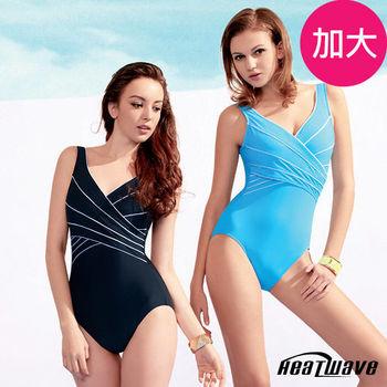 Heatwave 熱浪 加大泳裝 連身三角-雅緻時尚