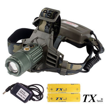【特林TX】美國CREE T6 LED電動變焦頭燈(T6H-IM4-Z)