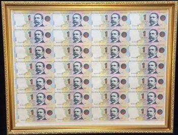 阿根廷 1元 28 連體鈔