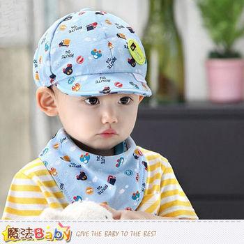 魔法Baby~嬰兒帽+三角巾組合~k41354