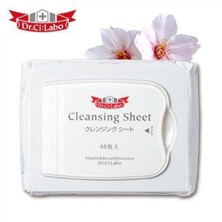 Dr.Ci:Labo 保濕淨透卸妝棉(一包46枚)