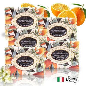 【義大利Rudy Profumi】米蘭古典橙花花保濕香皂150g(買三送二超值組)