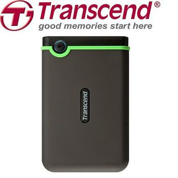 《Transcend 創見》 1TB USB3.0 25M3 2.5吋 防撞行動硬碟