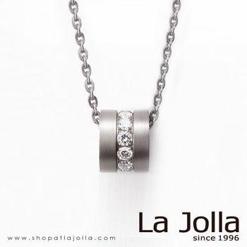 La Jolla 圓舞曲 純鈦墜項鍊(白)