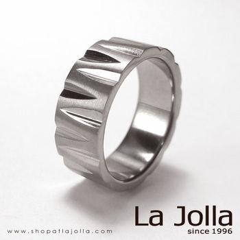 La Jolla W時尚 純鈦戒指(男款)