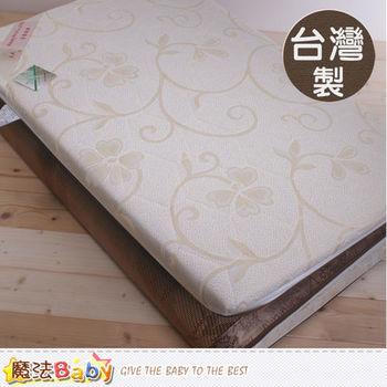 魔法Baby~台灣製3x6尺單人竹炭亞藤涼蓆健康透氣床墊~u2513