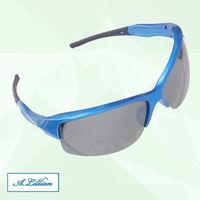 ~A.Lillian~炫藍  UV400 鍍膜 偏光 防撞鏡片 墨鏡