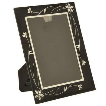 【凱堡】晶鑽玻璃6*8直橫式相框(二色)