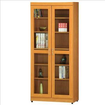 【時尚屋】[RC5]豪豐2.6x6尺玻璃門書櫃A51