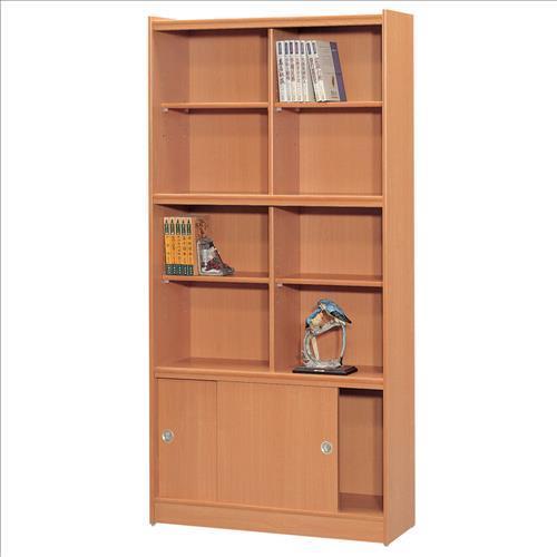 【時尚屋】[RC5]豪豐3x6尺玻璃拉門書櫃A36