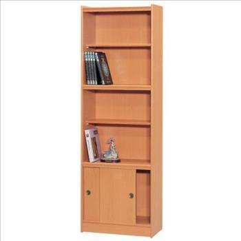 【時尚屋】[RC5]豪豐2x6尺玻璃拉門書櫃A26