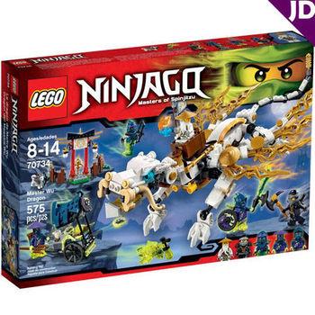 【LEGO 樂高積木】Ninjago 忍者系列 - 吳大師之龍 LT-70734