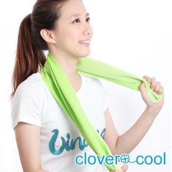 Clover瞬間涼感多用途冰涼巾(運動巾)-薄荷綠