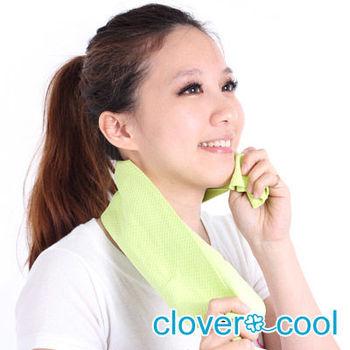 Clover瞬間涼感多用途冰涼巾(小領巾)-薄荷綠