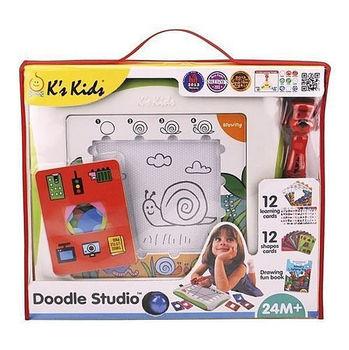 美國【K's Kids】益智玩具系列  Doodle Studio魔法畫家學習組