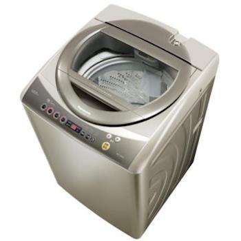 ★加碼贈好禮★【Panasonic 國際牌】12kg超強淨直立式洗衣機-香檳金NA-120YB-N