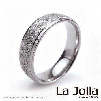 La Jolla 鑽石星辰 圓弧款純鈦戒指(男款)