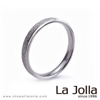 La Jolla 鑽石星辰 圓弧款純鈦戒指(女款)