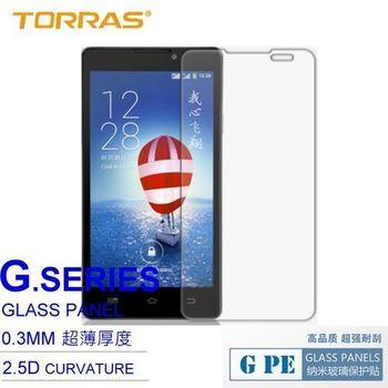 【TORRAS】Coolpad 酷派大神 F1 防爆鋼化玻璃貼 G PE 系列 9H硬度 0.3MM 2.5D導角 AGC玻璃 送面條線