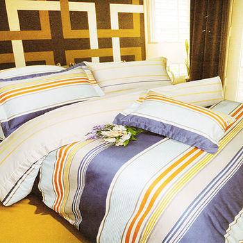 【KOSNEY】時尚品味  雙人100%天絲TENCE六件式兩用被床罩組