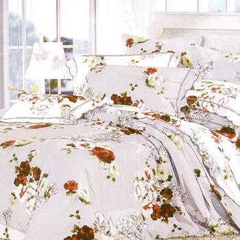 【KOSNEY】美學饗宴  雙人100%天絲TENCE六件式兩用被床罩組