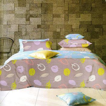【KOSNEY】空間花語  雙人100%天絲TENCE六件式兩用被床罩組