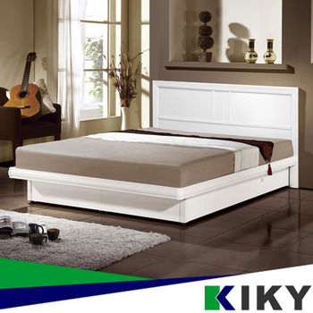 KIKY 麗莎5尺床頭片~100%台灣製造(白色)
