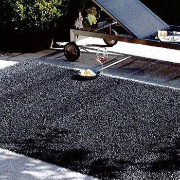 【范登伯格】鑽石亮澤長毛地毯-(黑)-200x290cm